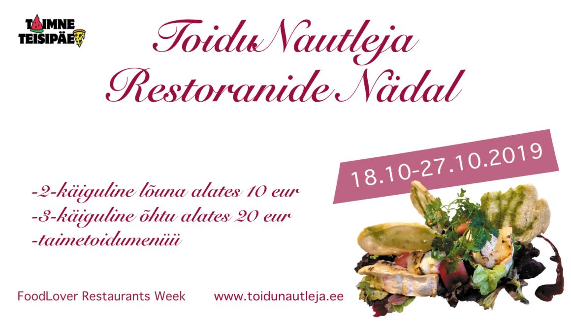 18.10-27.10.2019 ToiduNautleja